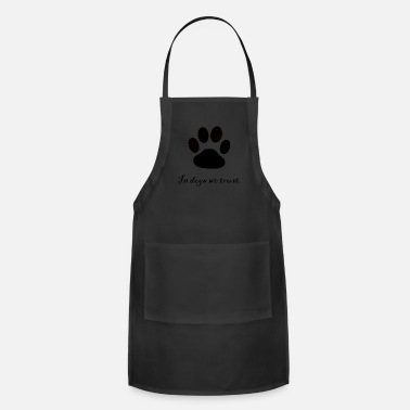 Dog Paw dogs paw - Adjustable Apron