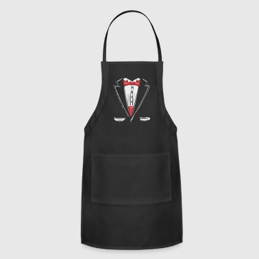 Groom Tuxedo - Adjustable Apron