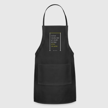 Household Joshua 24:15 household, serve the Lord.Christian - Adjustable Apron