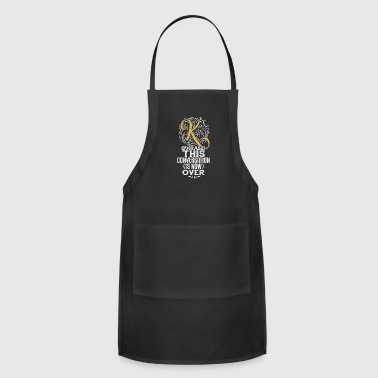 Sassy and Witty Attitude. Humorous Sayings - Adjustable Apron