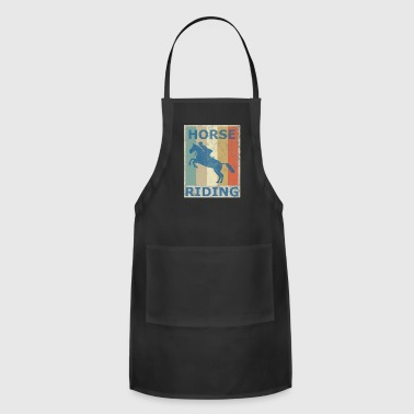 Equitation Retro Vintage Style Harness Racing Equitation - Adjustable Apron