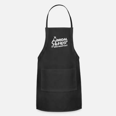 Hen Night Bridal Shower - Grils Night Out - Adjustable Apron