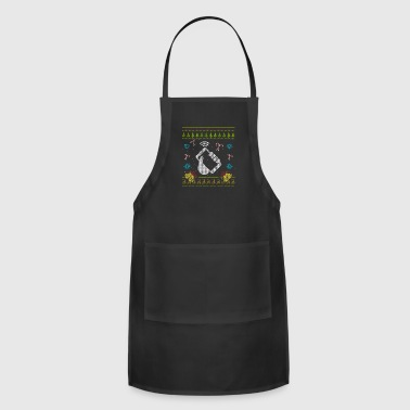Phone Christmas Ugly Sweater Funny Cell Phone Mobile Phone - Adjustable Apron