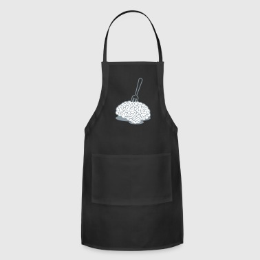 A Brain With A Fork - Adjustable Apron