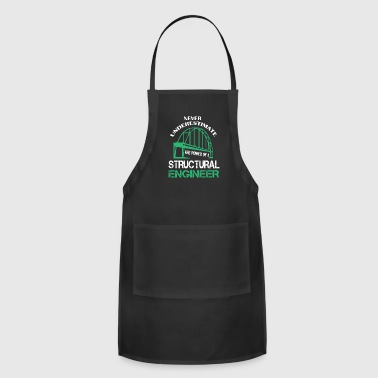 The Power Of A Structural Engineer T Shirt - Adjustable Apron