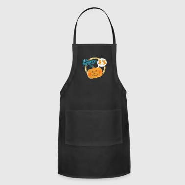 Halloween Pumpkin 13th Birthday - Adjustable Apron