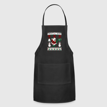 Canton Christmas Ugly Sweater Canton Ohio - Adjustable Apron