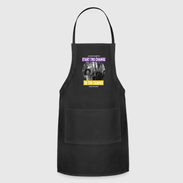 Nile Blacktivists (White) - Adjustable Apron