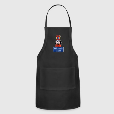 Ballet Funny Ballet Nutcracker Season square - Adjustable Apron