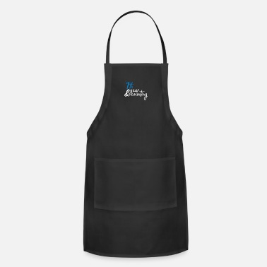 Anniversary 7th anniversary - Adjustable Apron