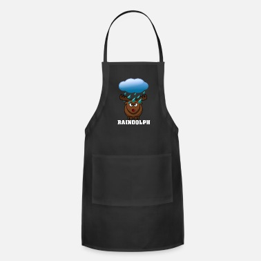 Red Nose Raindolph the red nosed reindeer - Adjustable Apron