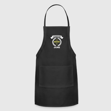 are born in - Adjustable Apron