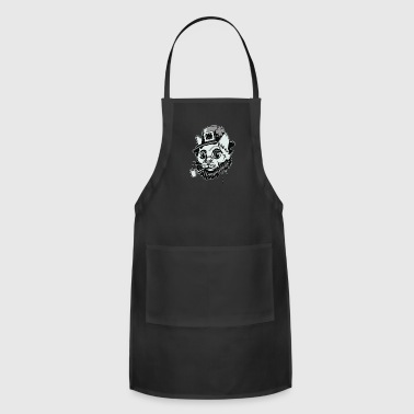 Cat Smoking - Adjustable Apron