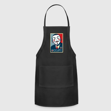 Anonymous occupy - Adjustable Apron