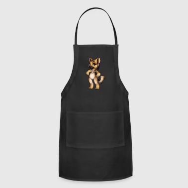 GERMAN SHEPHERD ART - Adjustable Apron