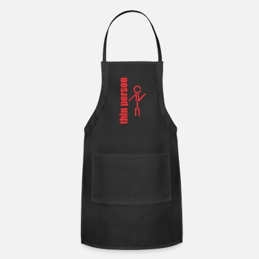 Thin thin person - Adjustable Apron