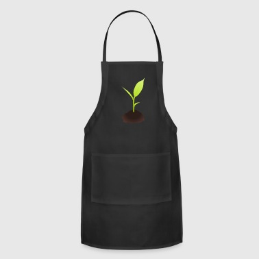 Plant Grounds Growing Plant - Adjustable Apron