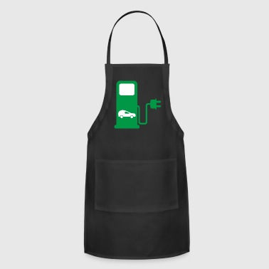 Gas Station benzin gas tankstelle petrol station oil productio - Adjustable Apron