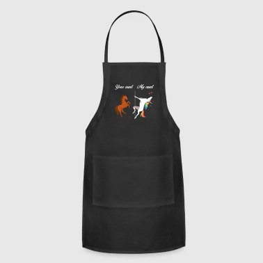 Your Aunt My Aunt Unicorn - Adjustable Apron