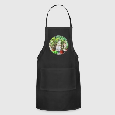 Bonsai in Greenhouse - Adjustable Apron