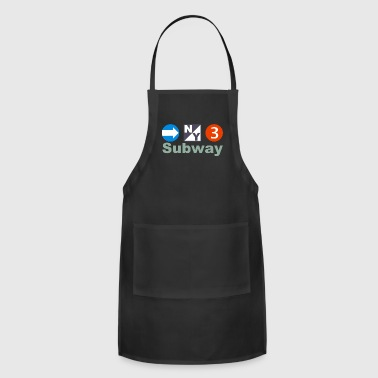 Nyc New York Subway - Adjustable Apron