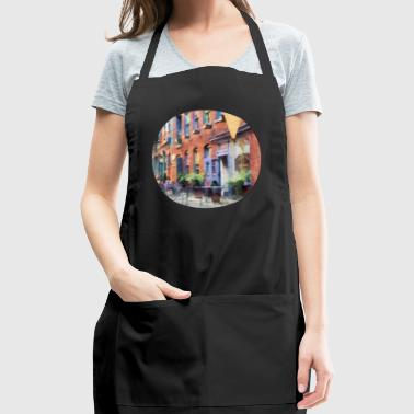 At the Ice Cream Parlor E - Adjustable Apron