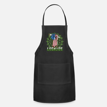 Pothead Legalize Marijuana Pot Smoker - Adjustable Apron