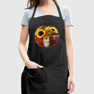 Vase of Sunflowers - Adjustable Apron