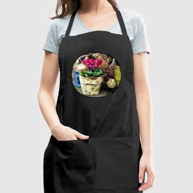 Cyclamen in Flowerpot and - Adjustable Apron