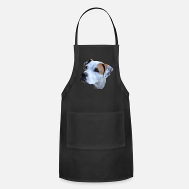 Dog Dog,dog head,dog face,Dog Face,Dog,Dogs,Bulldogge - Apron
