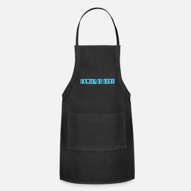 Pregnancy Family is love - Apron
