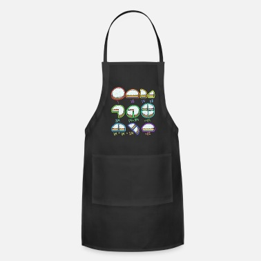 Rainbow Cool Rainbow Cake Quick Maths Fractions Teacher - Apron