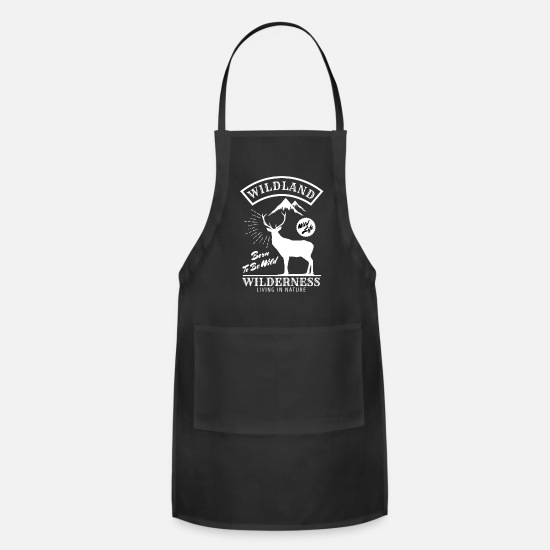 Tent Aprons - wildland wilderness - Apron black