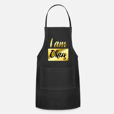 Color I am Okay - Apron
