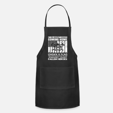 Helmet Respect Our Fallen Heroes Firefighters - Apron