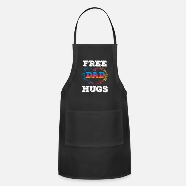 Low Great Dad Tee For Daddies Free Dad Hugs Tshirt - Apron