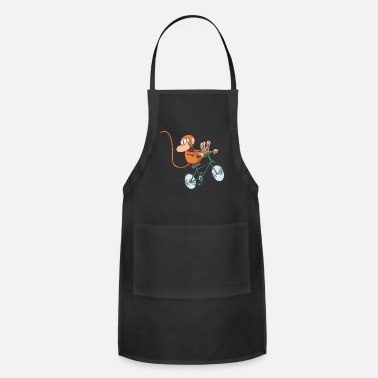 Feet Up Monkey Race Bike bicycle feet up - Apron