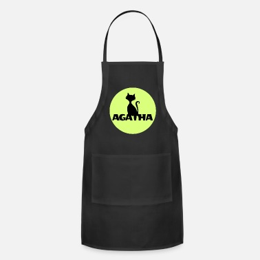 Name Day Agatha Name First name Name Motif name day - Apron