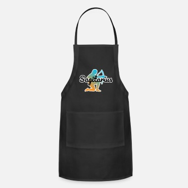 Signora Zodiac Sign Sagitarius - Adjustable Apron