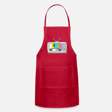 Tv Watching TV - Apron