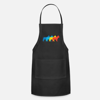 French French Bulldog Pop Art - Adjustable Apron
