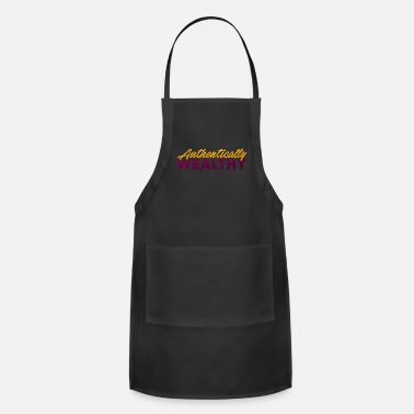 Wealthy Authentically Wealthy - Adjustable Apron