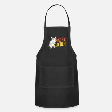 Fake Nightcaching with owl - Adjustable Apron