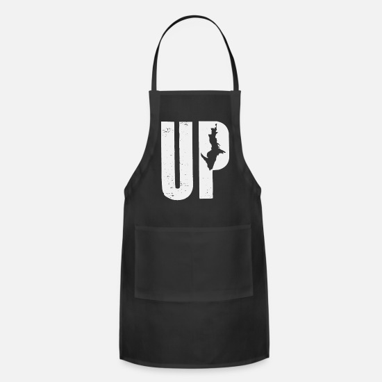 Up Aprons - UP MI - Apron black