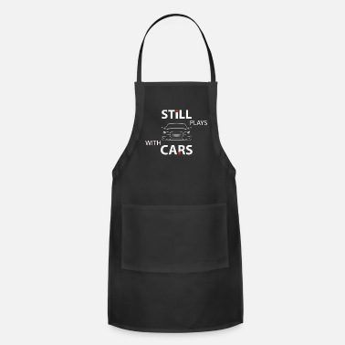 Mechanic Mechanic Still Plays With Cars - Apron