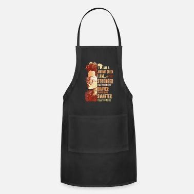 I Am A January Queen Stronger Smarter - Apron