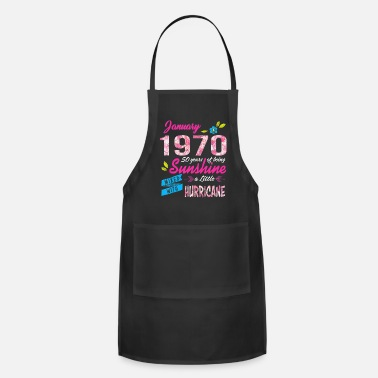 Teerich 51 Years old Sunshine January Made in 1970 - Apron
