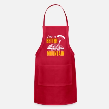 Extreme Spor Life Is Better Over The Mountains Paraglide - Apron