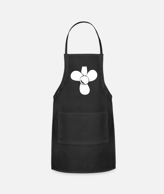 Propeller Aprons - Simplified Propeller - Apron black