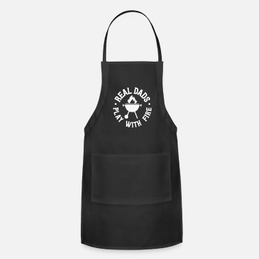 Dad Funny Grill & BBQ Quote Family Reunion Meat Steak - Apron
